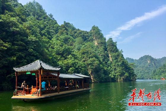 张家界核心景区武陵源迎最火暑期