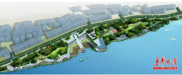 关于慈利县放马洲滨江公园初步设计方案的